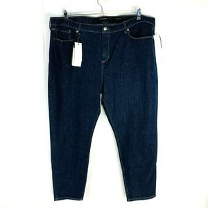 Banana Republic 22 Skinny Ankle Jeans Blue Stretch
